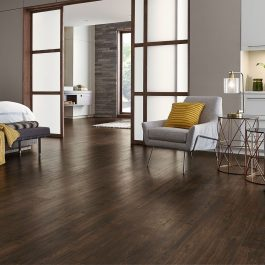 DARK OAK –  FREE SHIPPING – FREE INSTALLATION – WATER RESISTANT – COMMERCIAL & RESIDENTIAL
